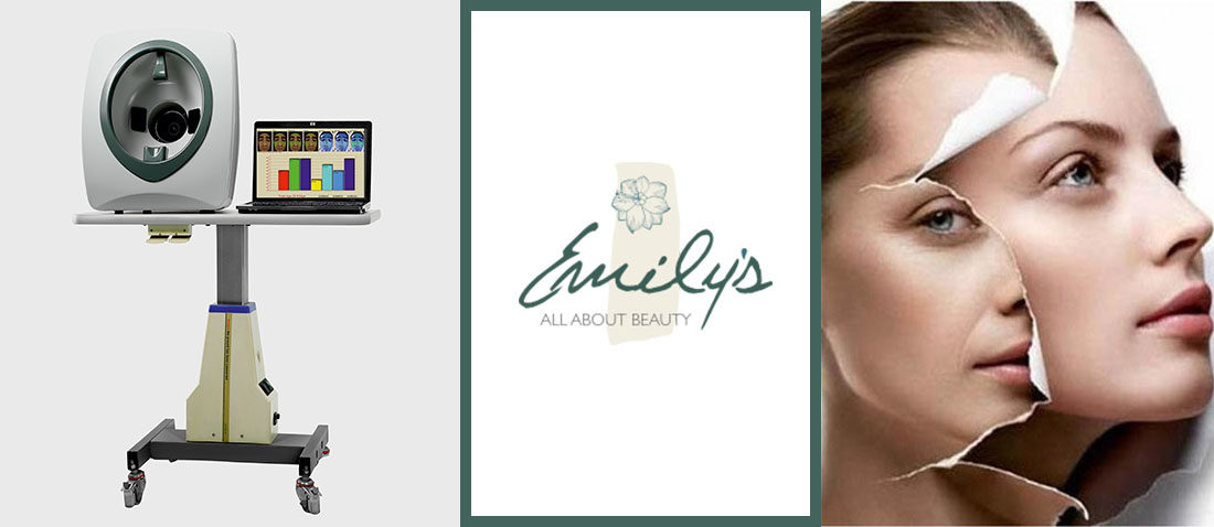 Emilys All About Beauty - skin scanner